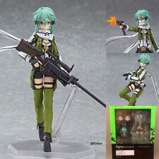 Anime Sword Art Online II Asada Shino Sinon Action Figure Toy PVC Collection New