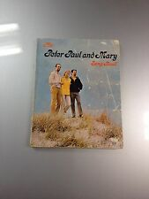 VINTAGE SONGBOOK Peter Paul And Mary Pepamar Softcover - Ships Promptly!