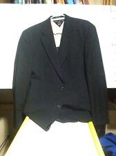 TOMMY HILFIGER Black Two Button Sport Coat Blazer Suit Jacket Men's XL        J6