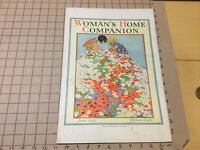 orig Point of Purchase Magazine Display 1925 Womans Home Companion - FLOWERS KID
