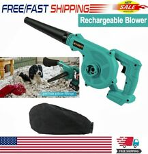 2 in 1 Cordless Leaf Dust Blower Vacuum Tool For Makita 18V Lithium Battery US