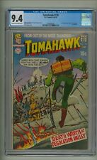 Tomahawk 130 (CGC 9.4) OW/W pages; Neal Adams cover; DC Comics; 1970 (c#22197)