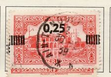 Algeria 1938 Early Issue Fine Used 25c. Surcharged 170542