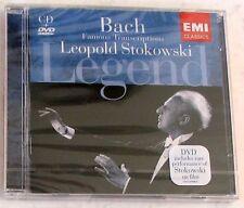 BACH J. S. - LEGEND: LEOPOLD STOKOWSKI - CD + DVD Sigillato