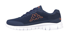 Kappa Rocket street skate shoes Unisex Low-Top Trainers Navy Brand New UK Stock