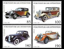 Liechtenstein 2014  oude auto's *(0,85 met verkeerde naam! )      postfris/mnh