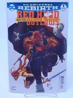 RED HOOD AND THE OUTLAWS #1 REBIRTH VARIANT COVER DC COMICS VF/NM CB356