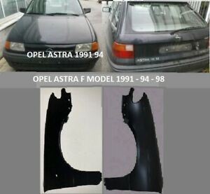 OPEL ASTRA F MODEL 1991 94 98 FRONT FENDER PANEL PAIR LH RH NEW AFTERMARKET