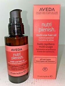 Aveda Nutriplenish™ Multi-Use Hair Oil (1 fl oz.) - New in Box
