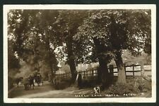 Postcard - Marsh Lane,Water Orton - Real Photo 1911