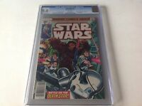 STAR WARS 3 CGC 9.4 WHITE PAGES A NEW HOPE PART 3 DARTH VADER MARVEL COMICS B