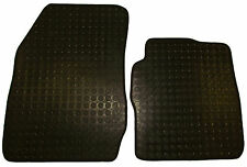 Ford Transit Courier 14+ Heavy-Duty Rubber Mats Front Tailored Fit 2 Piece Set