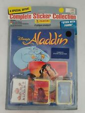 Extremely Rare - Unopened Panini Aladdin Set w/Sticker Book in original Package