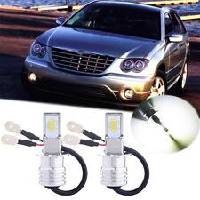 Bright H3 LED Fog Light Bulbs Conversion Kit Upgrade Lamp 35W 6000K High Power