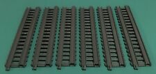 """LOT OF 6 Thomas the Train Trackmaster Grey Gray Replacement 8.5"""" Straight Track"""