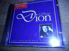 """CELINE DION """"LES PREMIÉRES ANNÉES"""" 18 TRACK CD ALBUM 1993 SONY VERSAILLES FRANCE"""