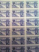 3c Centennial Of Engineering US Stamps Full Gum Full Pane MNH