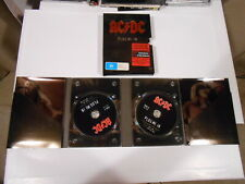 ACDC-PLUG ME IN DVD BOX SET-2 DVD SET-ALL REGIONS-AUSTRALIA-BON SCOTT-ANGUS Y.