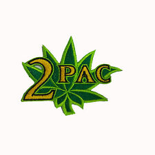2Pac TUPAC Embroidered Rock Band Iron On or Sew On Patch UK SELLER Patches