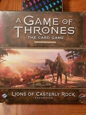 Lions of Casterly Rock, Deluxe Expansion, A Game of Thrones: LCG 2nd Edition