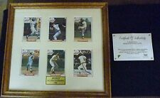 Brooks Robinson 1993 All Star Auto Nabisco frame 6 card Ernie Banks Don Drysdale
