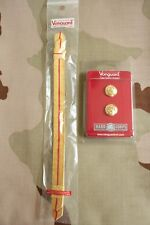 Usmc Us Marine Corps Gold Chin Strap And Button Set For Officer Combination Cap