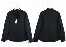 Neu Lee Fleecefutter Überhemd Schwarze Jacke Regular 101 _ GRÖSSE M