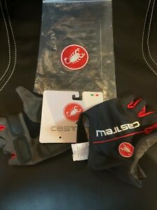 MEN'S CASTELLI NEW WITH TAGS CYCLING GLOVES - XL