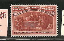 USA  #239  F-VF-LH   SC. Value $240.00