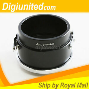 Arriflex Arri S mount lens to Micro 4/3 M43 mount adapter E-PL6 P3 P5 GF6 G6 GX7
