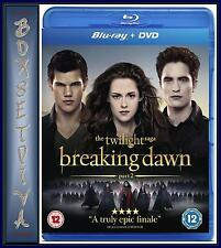 THE TWILIGHT SAGA - BREAKING DAWN PART 2 *BRAND NEW BLURAY + DVD****