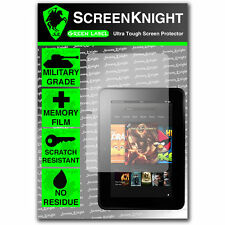 "ScreenKnight Amazon Kindle Fire HD 7"" SCREEN PROTECTOR invisible Military Shield"