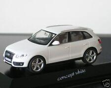 Audi q5 3.0 TDI SUV concept blanc Lim. 777 pièces SCHUCO 1/43 Nouveau neuf dans sa boîte KFZ-Kennz.