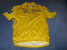 TOUR DE FRANCE 2007 NIKE YELLOW LEADERS CYCLING JERSEY [Large adult]