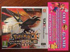 Pokemon ULTRA SOLE Nintendo 3DS anche 2DS,2DSXL,3DSXL,New3DS,New 3DS XL Italiano