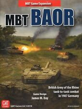 GMT MBT, BAOR Expansion 1987 Germany Tank-to-tank Combat, Mint in shrinkwrap