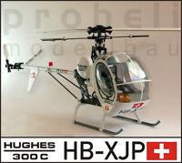 Rumpfbausatz, Fuselage Kit - Hughes 300C - für T-Rex 450 oder andere 450er Helis