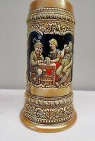 "*Vintage Anheuser-Busch German  Stein Ceramarte Olympia Beer Mug 8"" Tall"