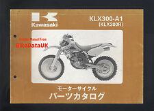 Kawasaki KLX300R-A1 (1996) Illustrated Parts List/Catalogue KLX300,KLX 300 R,JAP
