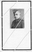 STERBEBILD   AVIS DE  DECES  SOLDAT  ALLEMAND    FRANCE  1944  ( 231 )