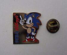 Fun KELLOGG'S Company SONIC HEDGEHOG SEGA Logo MINT Vintage METAL PIN BADGE Pins