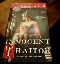 Innocent Traitor, Alison Weir, paperback, Lady Jane Grey