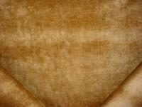 5-1/8 Gaston Y Daniela River Camel Yellow Velvet Drapery Upholstery Fabric