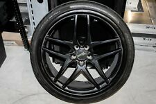 "22"" Savini Black Di Forza Wheel & Tire Package"