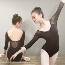Girls Ballet Camisole Uniforms Leotard Dancing  rompers Dancer dress gymnastics