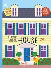Sticker Stencil House (Create Your Own World)