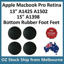 "4PCS Bottom Rubber Feet Foot For MacBook Pro Retina 15"" A1398 13"" A1425 A1502"