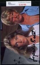 JACQUELINE BISSET THE DEEP JSA CERT HAND SIGNED PHOTO AUTHENTIC AUTOGRAPH