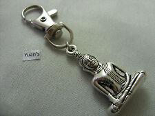 A 3D Thai Buddha Budda Keyring, Key Chain Handbag, Bag, Purse Charm Zip Puller