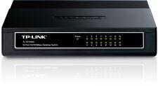 TP-Link TL-SF1016D 16-Port 10/100Mbps Green Desktop Ethernet Switch